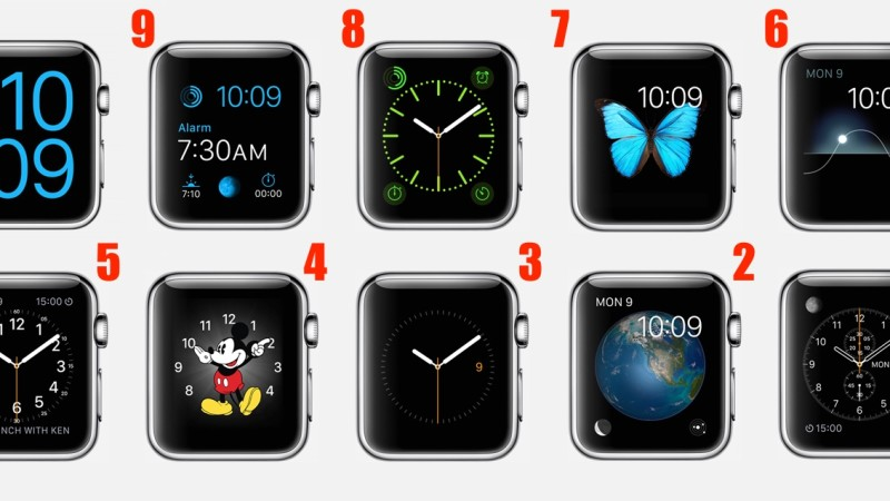 Ranking The Apple Watch Faces